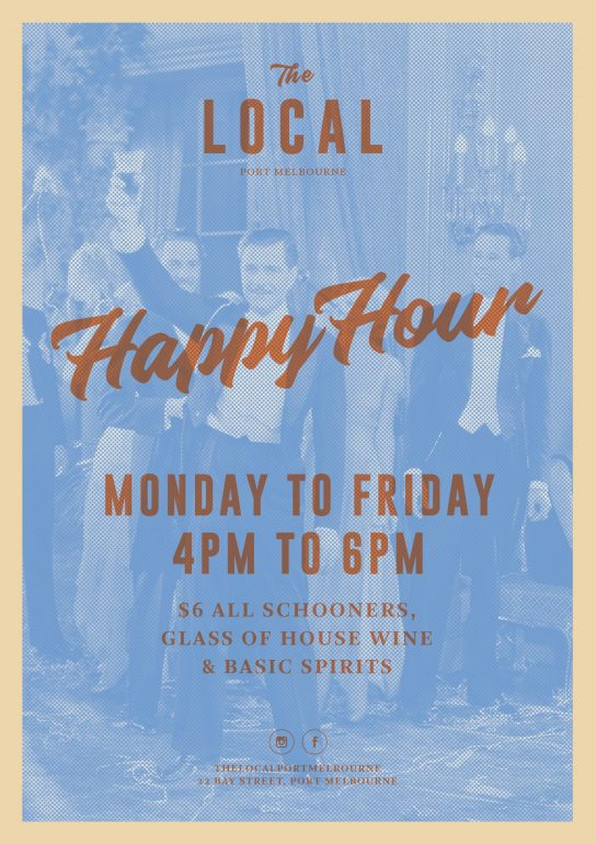 Happy Hour at The Local Port Melbourne