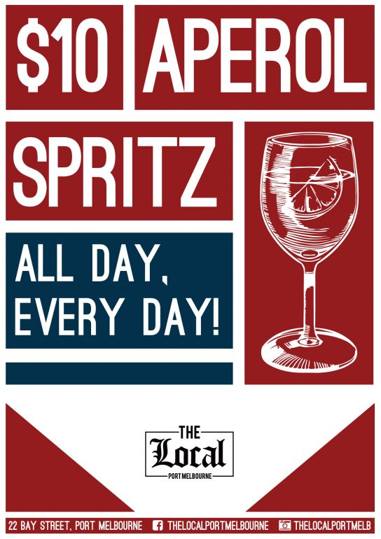 Aperol Spritz The Local