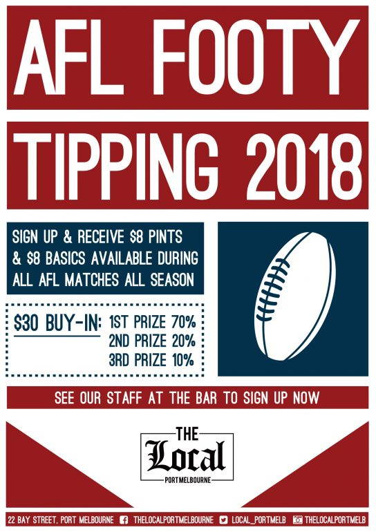 Footy Tipping The Local