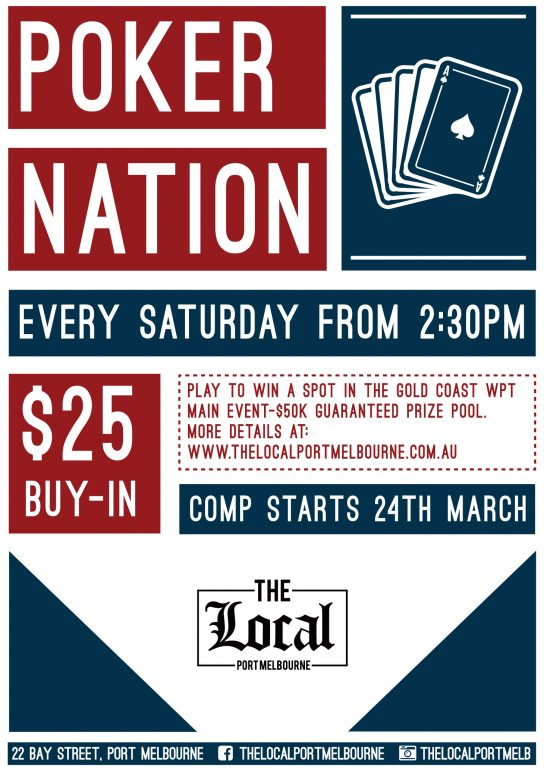 Poker Nation The Local Port Melbourne